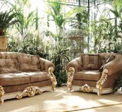 Трехместный диван 7933 фабрика Riva Mobili D`Arte