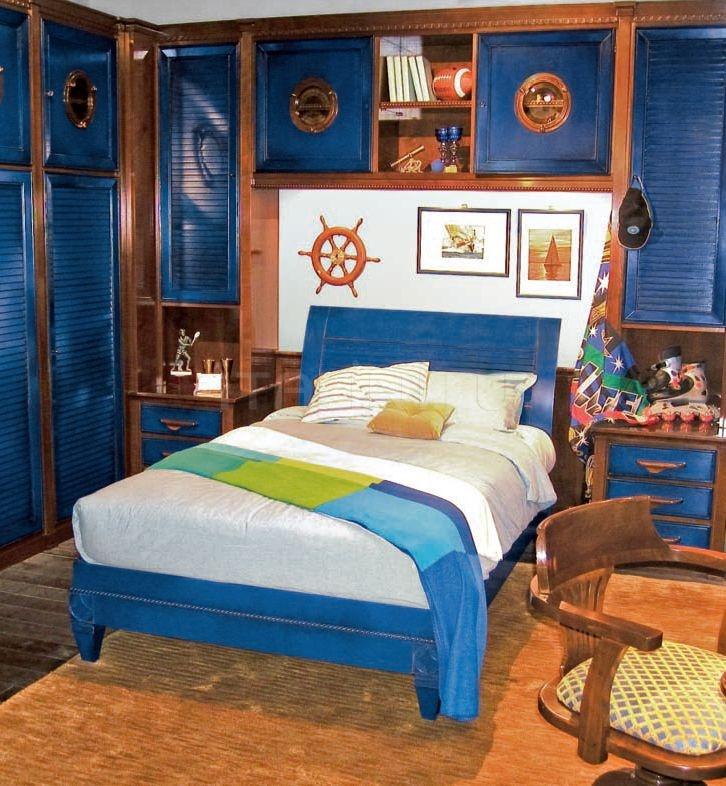 Кровать 20.93 Blue marina Arca