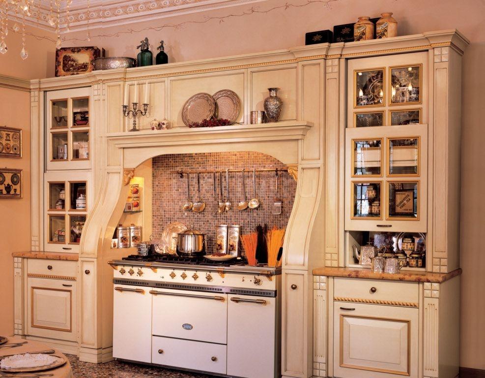 Кухня Victoria V12 Bianco Antico Arca