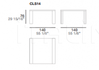 Стол обеденный Class 2.0 CLS14 Alf