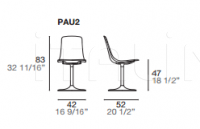 Стул Pauline 2 PAU2 Alf