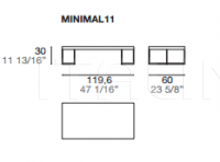 Столик Minimal 2.0 Alf