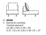 Модульный диван MAHARAJA Giorgetti