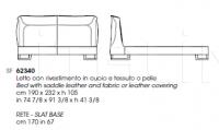 Кровать CORIUM Giorgetti