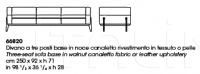 Трехместный диван AGO Giorgetti