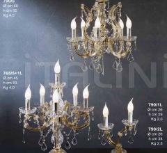 Настольная лампа 765/5+1L фабрика Beby Group