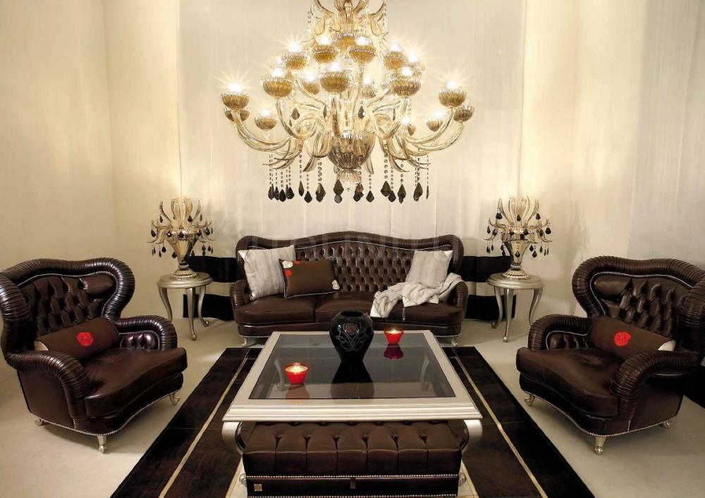 Трехместный диван 0124V01 Brown Beby Group