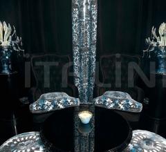 Итальянские настольные светильники - Настольная лампа 7810L02 Turquoise Capri фабрика Beby Group