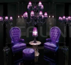 Итальянские гостиная - Пуф 0121U01 Violet фабрика Beby Group
