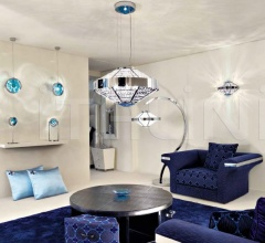Итальянские настольные светильники - Настольная лампа 5150L02 фабрика Beby Group