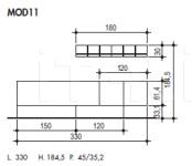 Модульная система MOD11 Sma (закрыта)