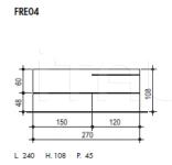 Модульная система FRE04 Sma (закрыта)