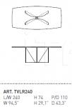 Стол обеденный VOLO Alivar