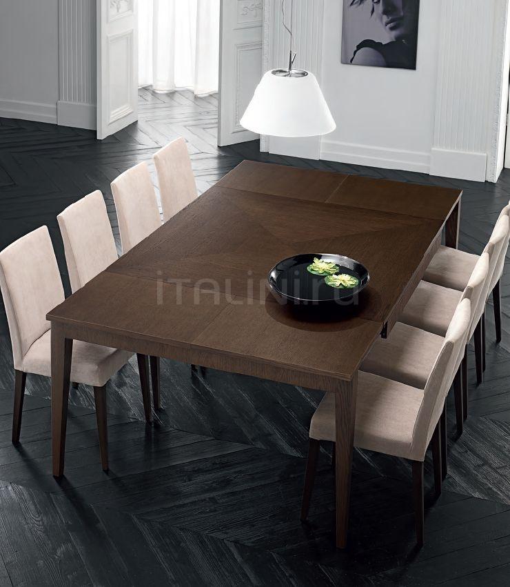 Стол обеденный 521/A Rovere Marrone FM Bottega D'Arte