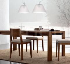 Стол обеденный 528/F Rovere Avana фабрика FM Bottega D'Arte