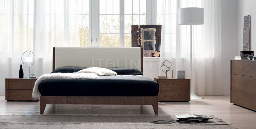 Кровать 142 Rovere marrone FM Bottega D'Arte