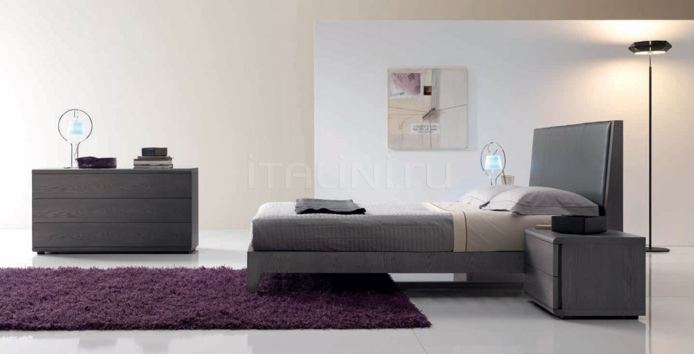 Кровать 142 Rovere grigio FM Bottega D'Arte