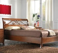 Кровать 811 Noce Biondo фабрика FM Bottega D'Arte