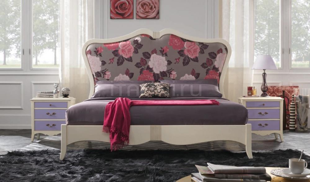 Кровать 827 Bianco Antico FM Bottega D'Arte