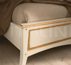 Кровать 823 Bianco/Oro фабрика FM Bottega D'Arte