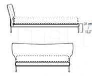 Кровать MAYA Alivar