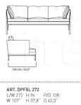 Модульный диван PORTOFINO XL Alivar