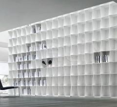 Книжный стеллаж WAVY фабрика Alivar