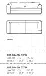 Модульный диван ASCOT Alivar