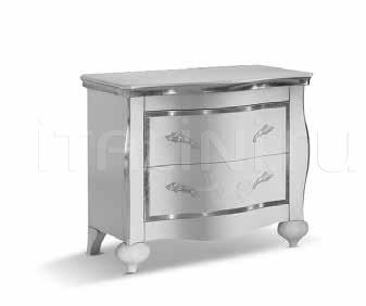 Тумбочка CMD100 silver white Ferretti & Ferretti