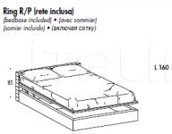 Кровать Lido Sma (закрыта)