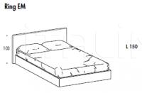 Кровать Lia vintage Sma (закрыта)