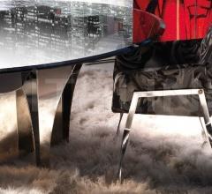 Стул с подлокотниками Metropolitan MET.132.AGX фабрика Roberto Cavalli