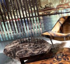 Журнальный столик City Grey фабрика Roberto Cavalli