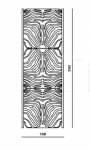Декоративная панель Glossy Roberto Cavalli