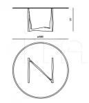 Круглый стол Astro AST.123.AMX Roberto Cavalli