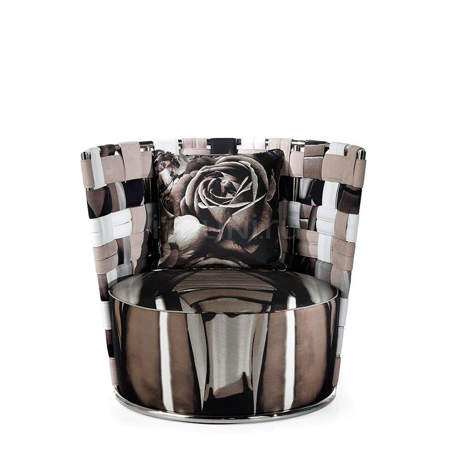 Кресло Bell BEL.221.A Glass Roberto Cavalli