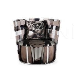 Кресло Bell BEL.221.A Glass фабрика Roberto Cavalli