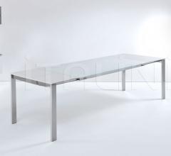Раздвижной стол 012 Outline glass фабрика Longhi