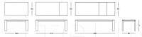 Раздвижной стол 040 Step oak Longhi