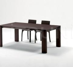 Раздвижной стол 040 Step oak фабрика Longhi