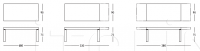 Раздвижной стол 105 Square Longhi