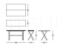 Консоль-стол 264 Boston Longhi