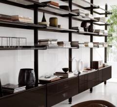 Книжный стеллаж 400 Vertical фабрика Longhi