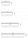 Книжный стеллаж 400 Vertical panelli Longhi
