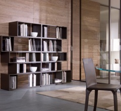 Книжный стеллаж 430 Liber фабрика Longhi