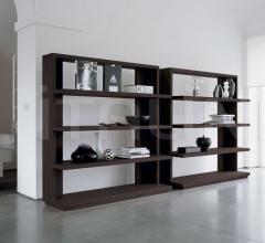Книжный стеллаж 500 Status фабрика Longhi