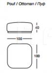 Модульный диван W585 Charme Longhi