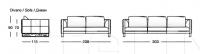 Модульный диван W560 Hall Longhi