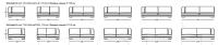 Модульный диван W535 Aston Longhi