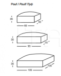 Модульный диван W521 Alfred Longhi